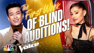 The Best Performances from the First Week of the Blind Auditions   The Voice 2021