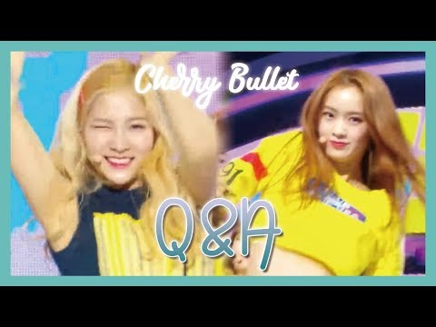 [HOT] Cherry Bullet  - Q&A, 체리블렛 - Q&A Music core 20190216