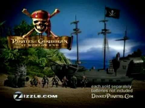 Pirates of the Caribbean Black Pearl Ad - (15 second spot)