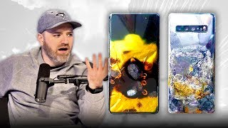A Samsung Galaxy S10 Has Exploded...