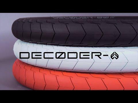 Video ECLAT Tire DECODER 20 x 2.30 Black Brown