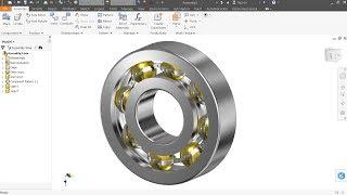 Autodesk Inventor Tutorial Ball Bearing