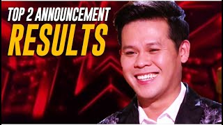 RESULTS PART 2: The TOP 2 @America's Got Talent Champions REVEALED!