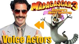 """""""Madagascar 3"""" Voice Actors and Characters"""