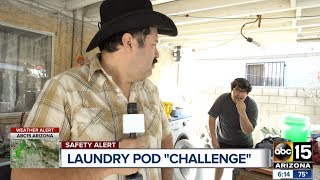 Mexican man finds kid eating Tide PODS #TidePodChallenge