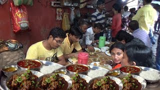 Mutton Rice @ 90 rs Per Plate | Street Food Heaven in India | Kolkata Deckers Lane Esplanade