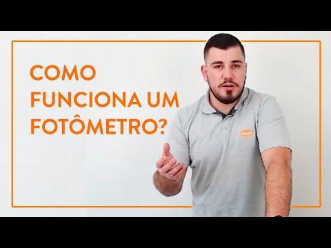 Como funciona um fotômetro?