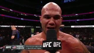 UFC 214: Robbie Lawler Octagon Interview