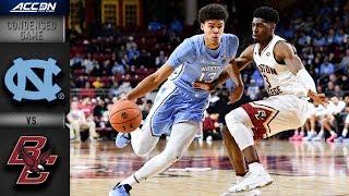 North Carolina vs. Boston College -  Condensed Game | ACC Basketball 2018-19