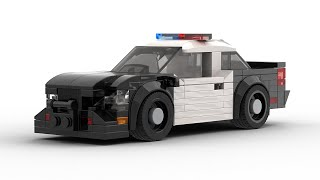 LEGO Speed Champions Highway Patrol Car Tutorial