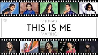 Behind scenes of Bigg Boss star Vithika's 'This is me' rap..