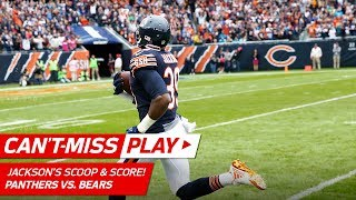 Eddie Jackson's Spectacular Scoop & Score Against Carolina! | Can't-Miss Play | NFL Wk 7 Highlights