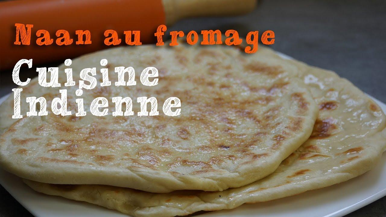 recette des naans au fromage cuisine indienne youtube. Black Bedroom Furniture Sets. Home Design Ideas