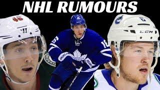 NHL Rumours - Marner, Canucks, Wild + Bruins
