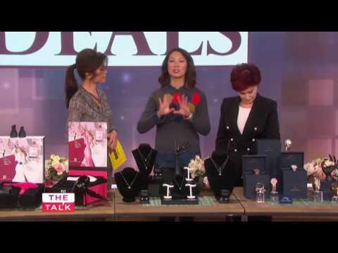 Diamond Veneer on CBS ''The Talk'' - Shop Daytime Deals - Diamond Dust Covered CZ review