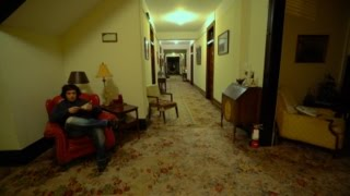 Real Life Shining : 3am HAUNTED Lowe Hotel Tour : Point Pleasant, WV