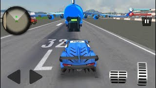 US Police Robot Car Game – Police Plane Transport - Android Gameplay