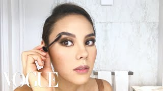 Catriona Gray's Miss Universe Makeup Routine | Beauty Secrets | Vogue