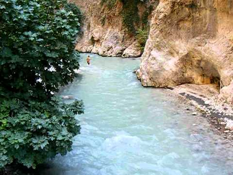 saklikent gorge walk turkey youtube. Black Bedroom Furniture Sets. Home Design Ideas