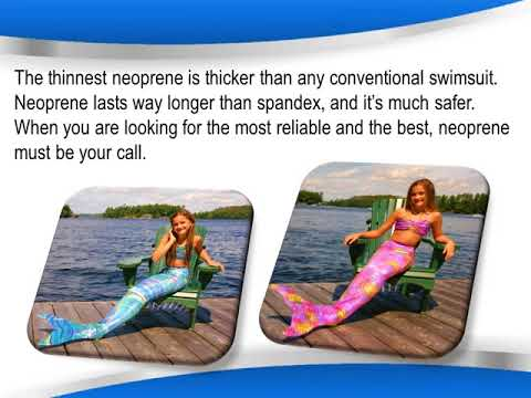 Benefits of Buying Neoprene Swimmable Mermaid Tails