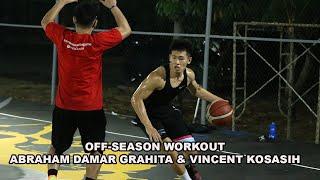 Yang Mau Jago Basket, Harus Latihan Kaya Abraham Damar Grahita & Vincent Kosasih!