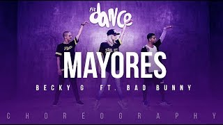 Mayores - Becky G  ft. Bad Bunny | FitDance Life (Coreografía) Dance Video - YouTube