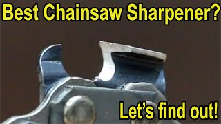 Which Chainsaw Sharpener is Best? Let's find out! Stihl, Granberg, Chicago Electric, Oregon