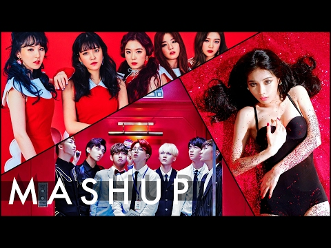 RED VELVET x BTS x HYUNA(현아) _ Rookie /Dope(쩔어) /Red(빨개요) MASHUP