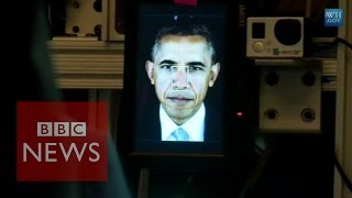 3D Obama: First 3D portrait of a US president