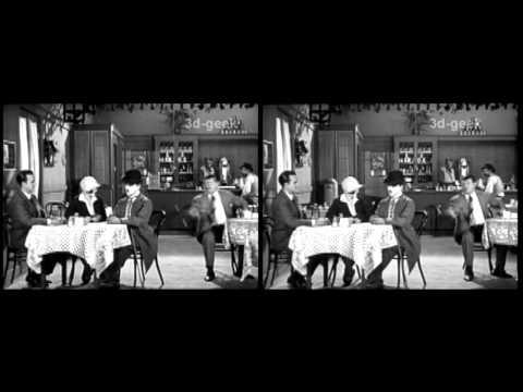 Charlie Chaplin 3D TEST