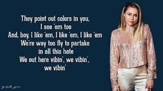 Miley Cyrus - No Tears Left To Cry (Ariana Grande Cover)(Lyrics)