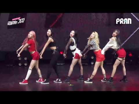 [ENG SUB] 프리스틴V (PRISTIN V) - 네 멋대로(Get It) Showcase stage Fancam