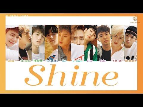 [COLOR CODED/THAISUB] PENTAGON - Shine #พีชซับไทย