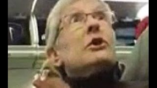 Passengers Cheer As Liberal Hag Is Thrown Off Airplane For Berating Trump Supporter.