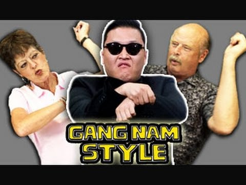 ELDERS REACT TO GANGNAM STYLE