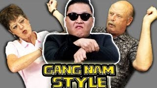 ELDERS REACT TO GANGNAM STYLE