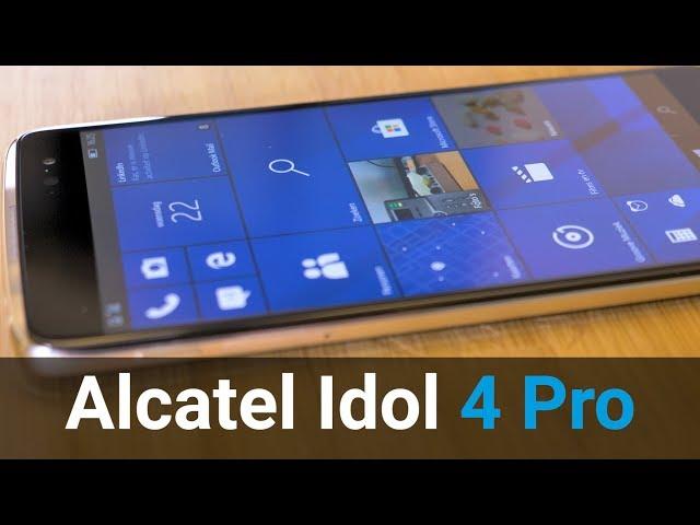 Belsimpel.nl-productvideo voor de Alcatel IDOL 4 Pro Black