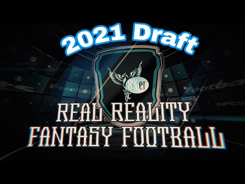 The 2021 Real Reality Fantasy football draft rounds 1-3