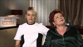 Taylor Schilling & Kate Mulgrew talk about fans