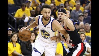 Stephen Curry Wasn't Used To Seeing Mom Wearing A Portland Trail Blazers Jersey