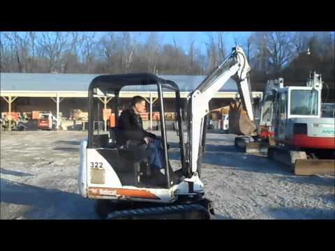 For Sale: 2002 Bobcat 322D