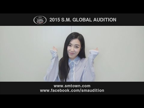 [Tiffany MESSAGE] 2015 S.M. GLOBAL AUDITION