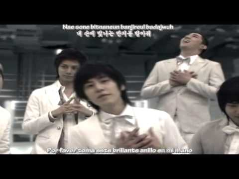 Super Junior - Marry U (Sub. Español - Hangul - Romanización)