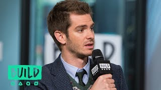 Watch Andrew Garfield Turn Red When Co-Star Claire Foy Praises Him
