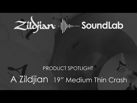 """19"""" A Zildjian Medium Thin Crash - A0233"""