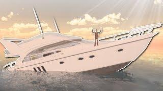 SINKING SHIP SURVIVAL in GMOD? - Garry's Mod Gameplay - Sinking Ship Survival