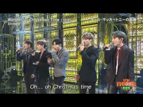 SHINee 20161214 FNS 「 Wonderful Christmas  time」