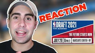 2021 NBA DRAFT LIVE REACTION!