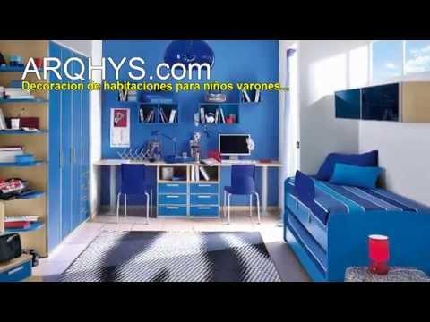 Decoracion de habitaciones para ni os varones musica movil - Habitaciones decoradas para ninos ...
