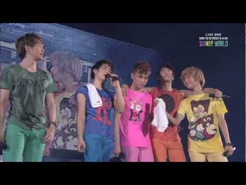 SHINee - LIVE DVD「SHINee THE 1ST CONCERT